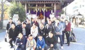 画像:氷川神社祈願祭
