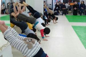 画像:キッズ体操教室