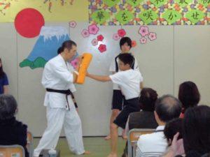 画像:文理学院文化祭演武