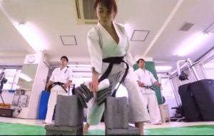 画像:清水あいりさん動画撮影